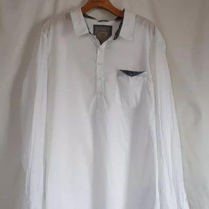 👔👔GUESS Mens NWT Rustic Popover Shirt Sz XL